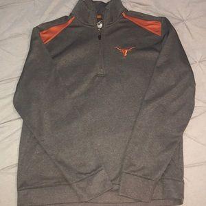 Longhorn Nike zip up